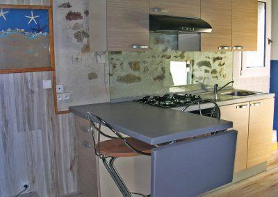 LOGIS DU BARTHON CAP BRETON T1 cuisine et bar