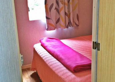 MH Type 2 Baby + ancienne génération Willerby. chambre gd lit